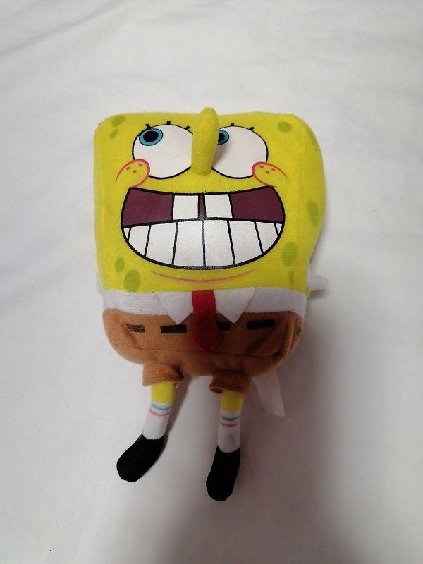 Peluche pequeño Bob Esponja