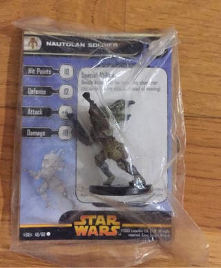 Star Wars. Nautolan soldier y Clone Trooper