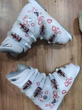 botas ski niña chica mujer 37 y 38 roxy