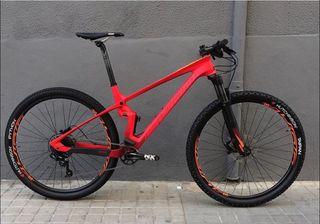 Bicicleta doble suspensión de carbono Sunn Shamann