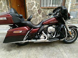 Harley Davidson ultra limited low, año 2014