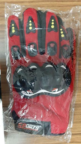 guantes de bici sin uso