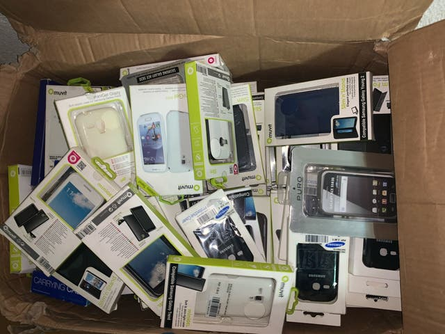 Fundas movil tablet cargador varios