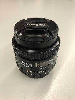 Objetivo Nikon 35mm