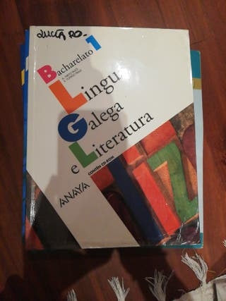 Libro lingua galega e literatura