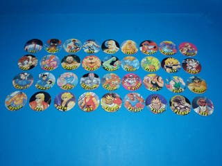 coleccion completa tazos street figther 2