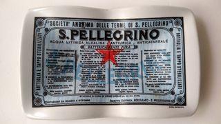 Cenicero publicidad SAN PELLEGRINO