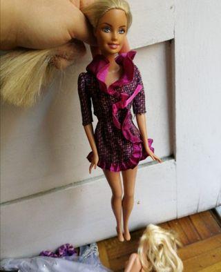 Chaqueta vestido Barbie
