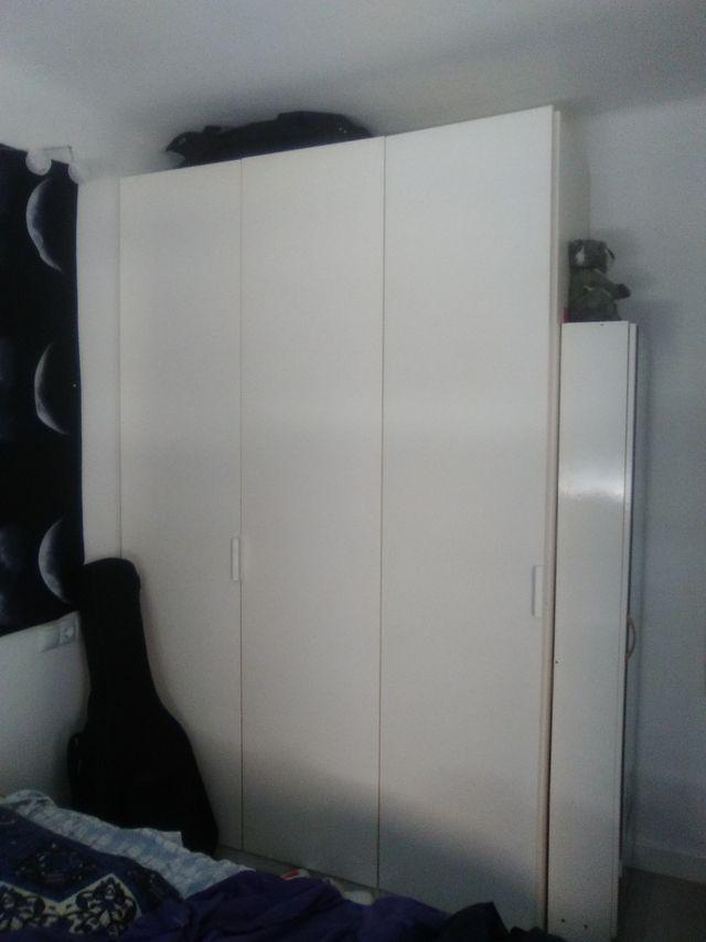 Armario pax iKEA blanco de 100 o de 50*236 de alto