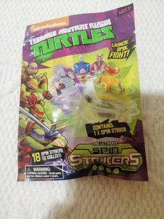 Mini peonza teenage mutant turtles