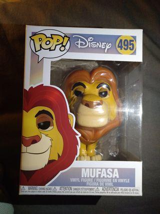Funko Pop Mufasa Rey León