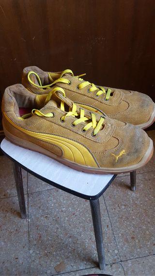 Zapatos de seguridad marca Puma