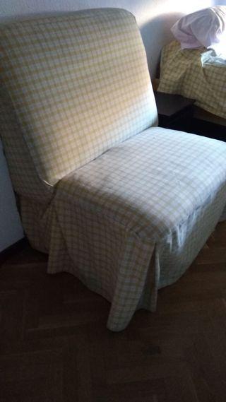 Sillón cama vintage de diseño
