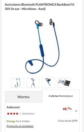 Auriculares Bluetooth PLANTRONICS