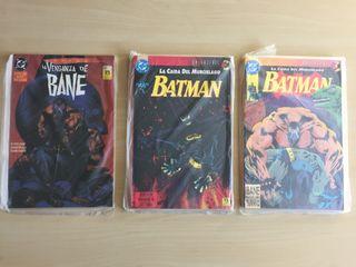 Batman cómic. Serie Knightfall editorial Zinco