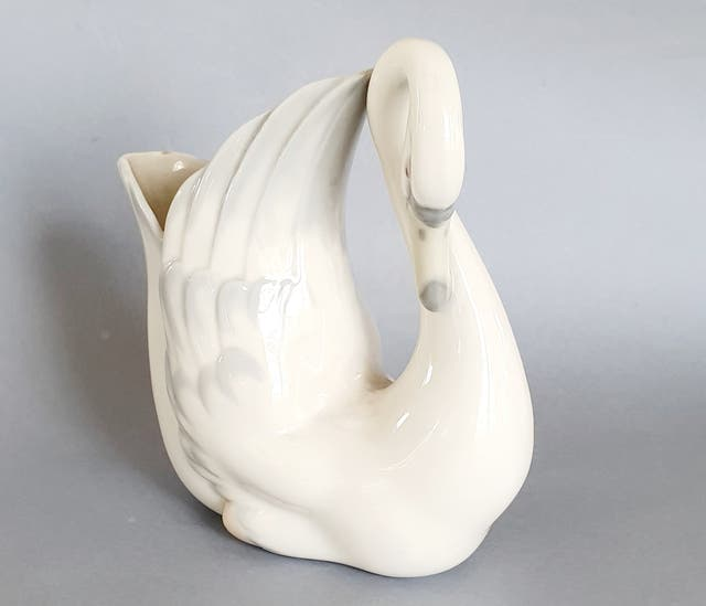 Porcelana Lladró Zaphir cisne Florero.