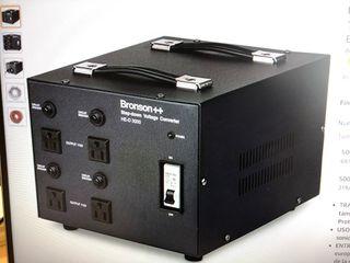 Convertidor voltaje para electrodomésticos 3000w