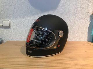 Casco de moto nuevo cafe racer. Últimas unidades