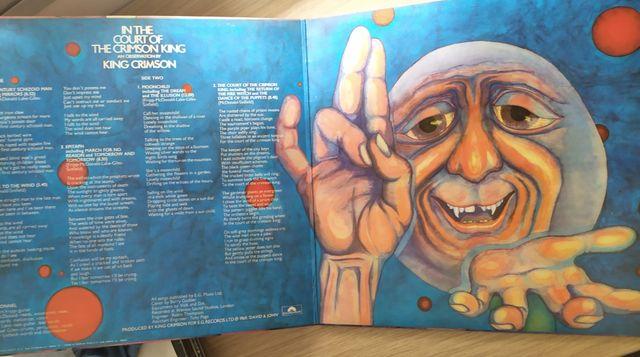 Disco de vinilo King Crimson. In the Court