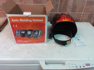 Grupo de soldar inverter IGBT 300A + casco careta