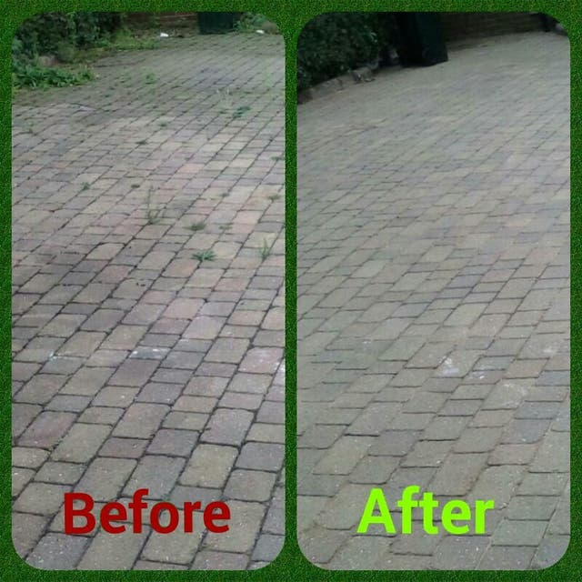 MRM pressure washing