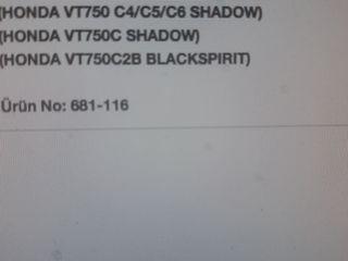 HONDA SHADOW VT750, CUSTOM.