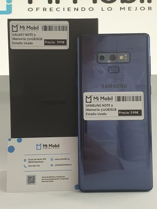 Samsung Galaxy Note9 512gb Ocean Blue - Usado
