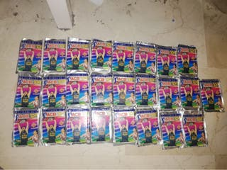25 sobres de cromos a b 1995. Cerrados