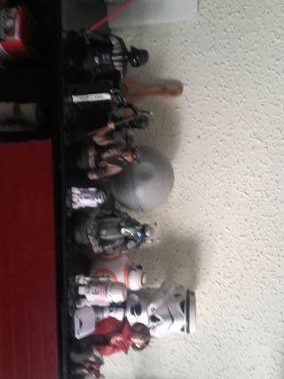 bustos pintados a mano de Star wars