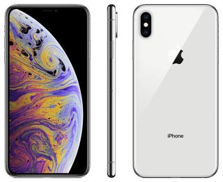 80039182-Iphone XS Max 64Gb(1Sim + eSIM),Silver