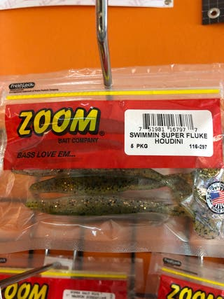 Señuelo pesca zoom