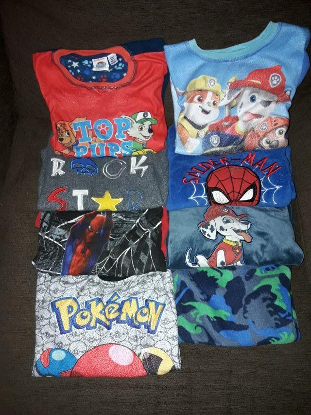 9 pijamas de niño de invierno