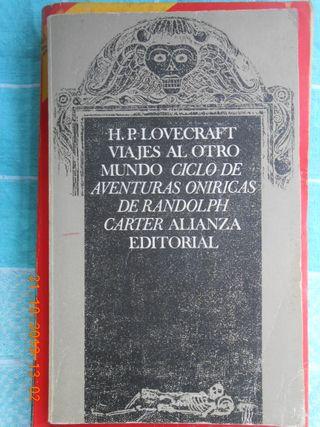 LIBRO VIAJES AL OTRO MUNDO. H. P. LOVECRAFT