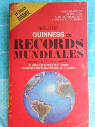 LIBRO ENCICLOPEDIA GUINNESDE LOS RECORDS MUNDIALES