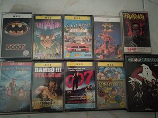 Juegos varios MSX