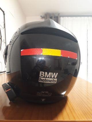 casco bmw systen IV con intercomunicador