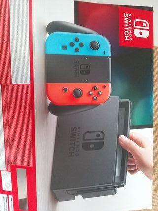 nintendo switch ( con 6 juegos)