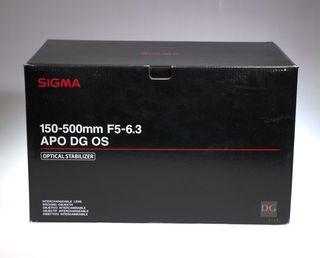 SIGMA 150-500mm F 5-6.3 EX APO DG OS HSM