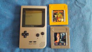Gameboy pocket + 2 juegos