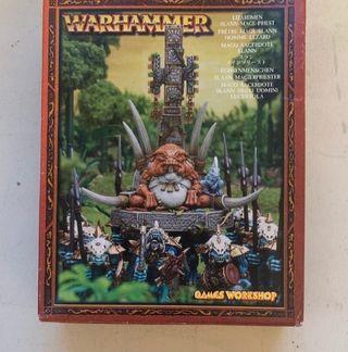 Warhammer Mago gran sacerdote Slann
