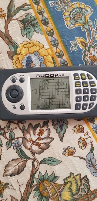 juego electrónico de Sudoku