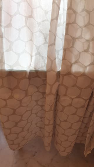Cortinas en perfectísimo estado