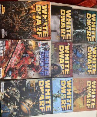 lote revistas Warhammer White Dwarf