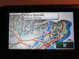 GPS moto carretera y off road Garmin Montana 610