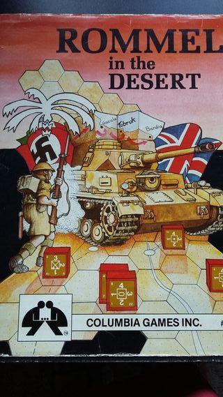 juego de guerra Rommel in the desert