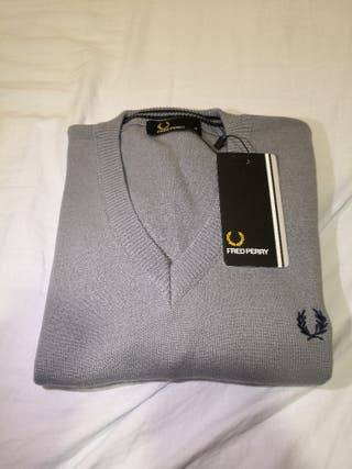Jersey Fred Perry Gris