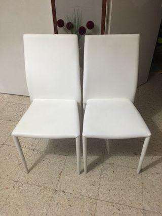 4 sillas por 65€