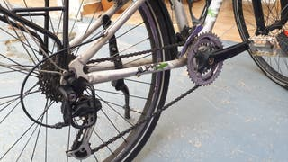 Bicicleta TREK para mujer (cuadro cromoly)