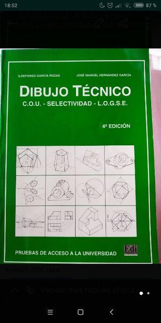 DIBUJO TÉCNICO ACCESO A UNIVERSIDAD ILDEFONSO