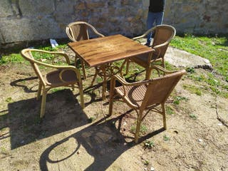 Conjunto de 50 sillas de jardín en aluminio